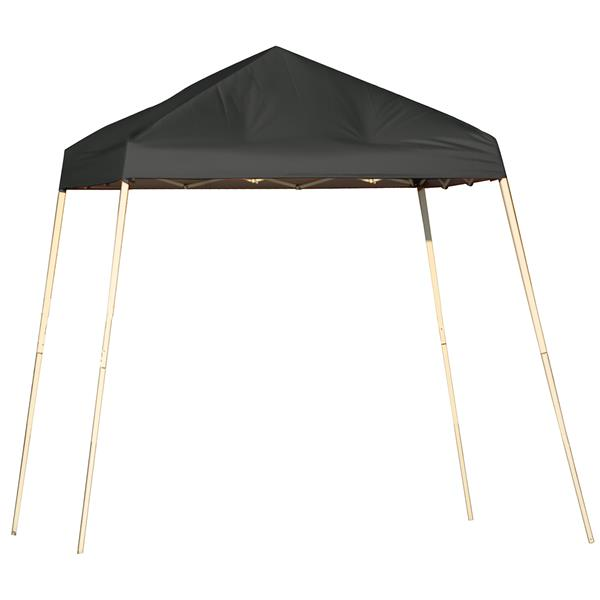 ShelterLogic Pop-Up Canopy HD® Slant Leg - 8-ft x 8-ft - Black