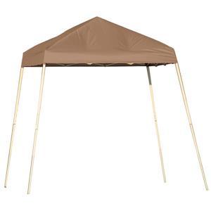 ShelterLogic Pop-Up Canopy HD® Slant Leg - 8-ft x 8-ft - Bronze