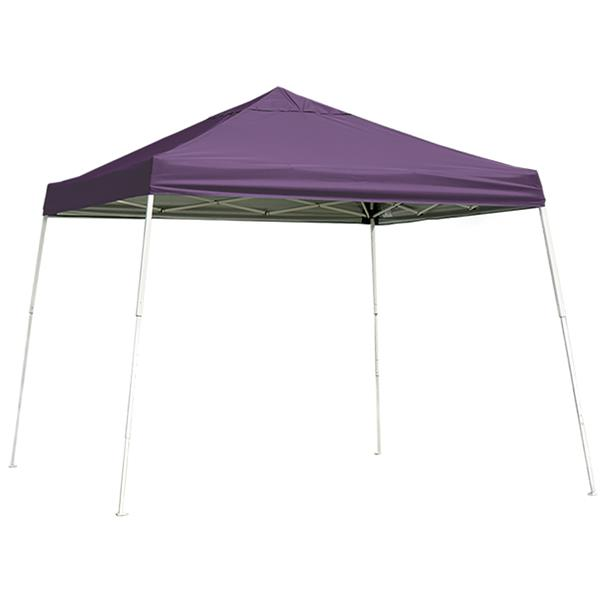 ShelterLogic Pop-Up Canopy HD® Slant Leg - 12-ft x 12-ft - Purple
