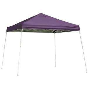 ShelterLogic Pop-Up Canopy HD® Slant Leg - 12-ft x 12-ft - Purple