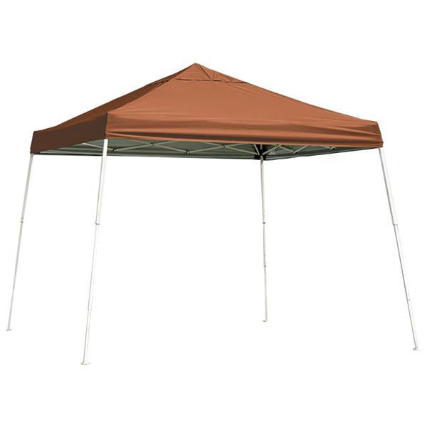 ShelterLogic Pop-Up Canopy HD® Slant Leg - 12-ft x 12-ft - Terracotta