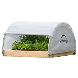 ShelterLogic GrowIT Round Raised Bed 23-in x 48-in Greenhouse
