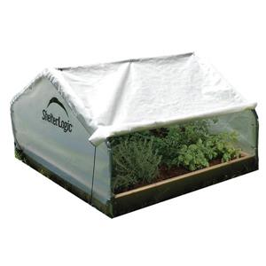 ShelterLogic GrowIT Peak Raised Bed 28-ft x 4-ft Greenhouse