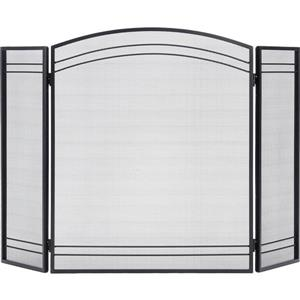 ShelterLogic Black Classic Fireplace Screen