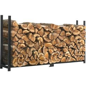 ShelterLogic Ultra Duty Firewood Rack - Black
