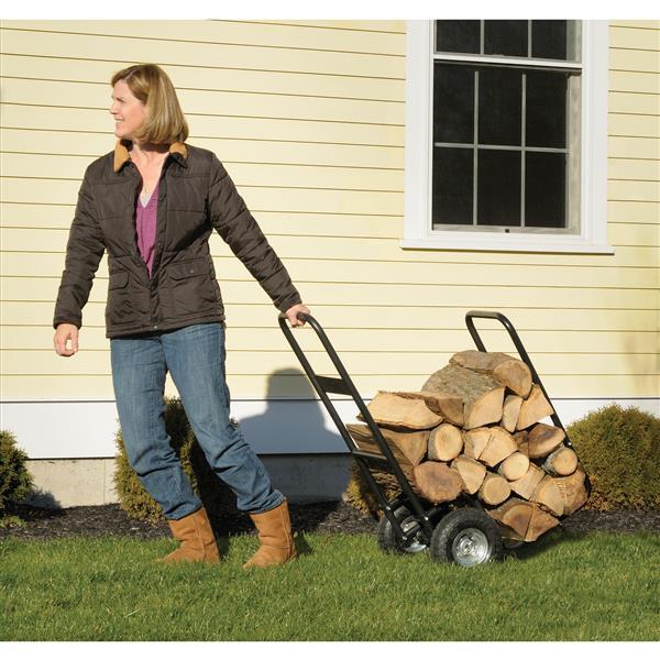 Shelter Logic Haul-It Rolling Firewood Cart