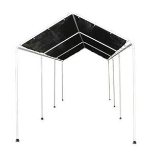 ShelterLogic 8-ft x 20-ft Black Shade Canopy
