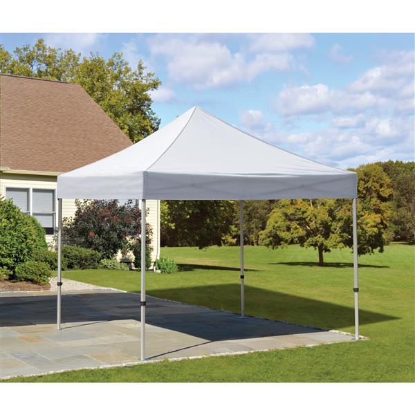 ShelterLogic Alumi-Max® Pop-Up Straight Leg- 10-ft x 10-ft