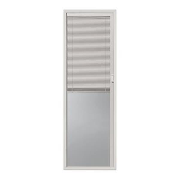 "ODL Canada Mini Blinds Between Glass - 20"" x 64"" - White."