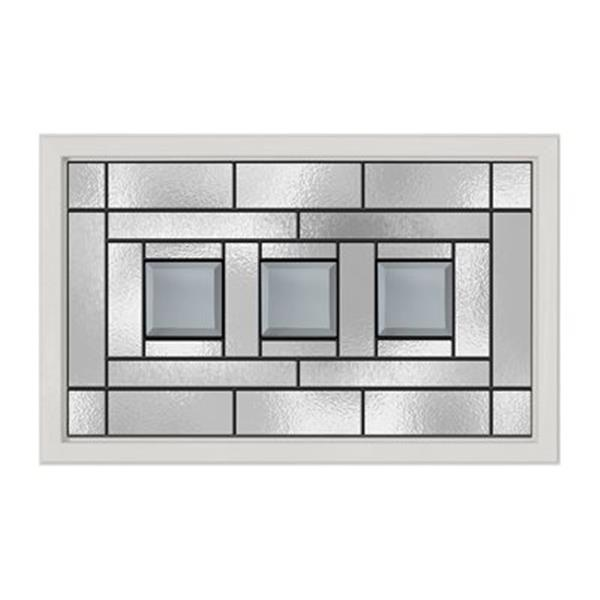 ODL Canada Craftsman Decorative Entry Door Glass.