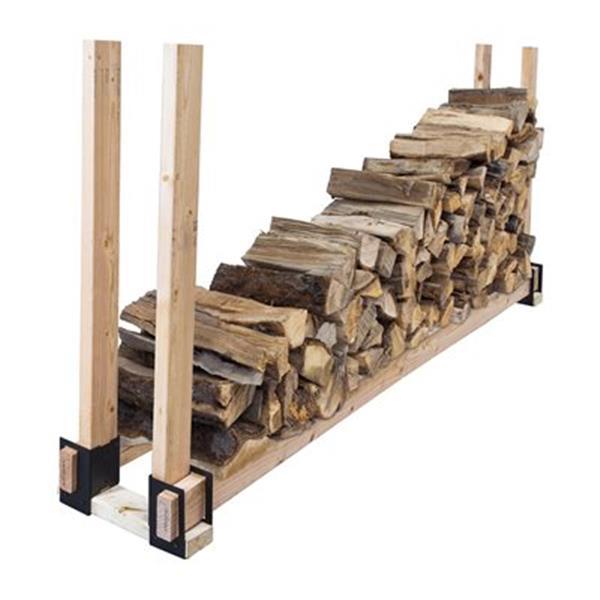 Pleasant Hearth 4-Piece Log Brackets