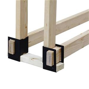 Pleasant Hearth 4-Piece Log Brackets