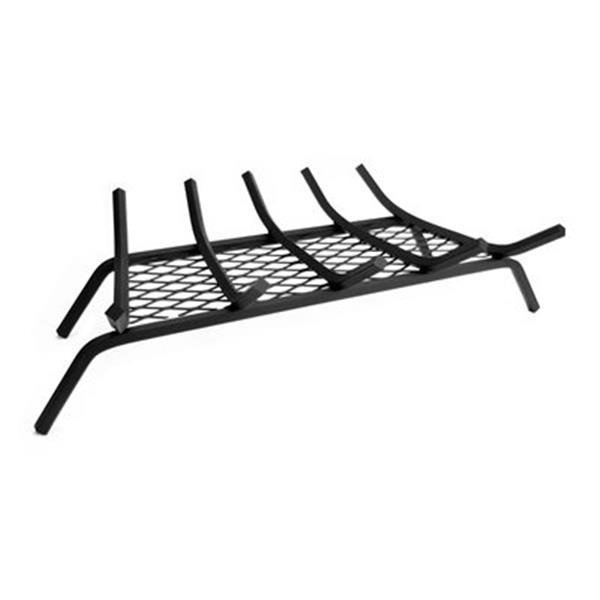 Pleasant Hearth 29.33-in Steel Grate with Ember Retainer