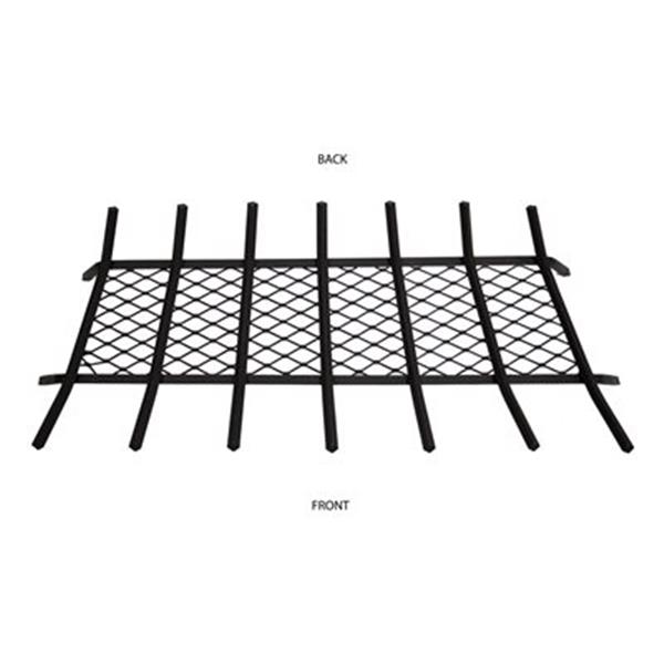 Pleasant Hearth 36-in Steel Grate with Ember Retainer