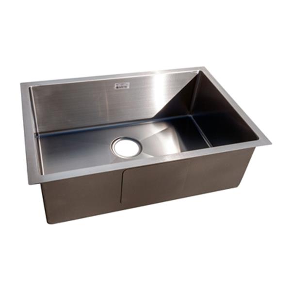 Acri Tec Industries Acri Tec Steel 18 In X 27 In Under Mount Single Basin Kitchen Sink 21265 Rona