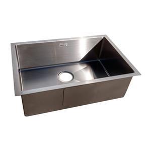 Acri-tec Steel 18-in x 27-in Under-Mount Single Basin Kitchen Sink