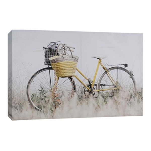 ArtMaison Canada Bicycle 24-in x 36-in Canvas Art