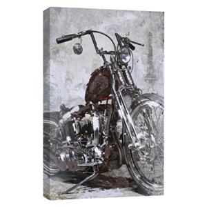 ArtMaison Canada Bike Acrylic Painting 47-in x 32-in Canvas Art