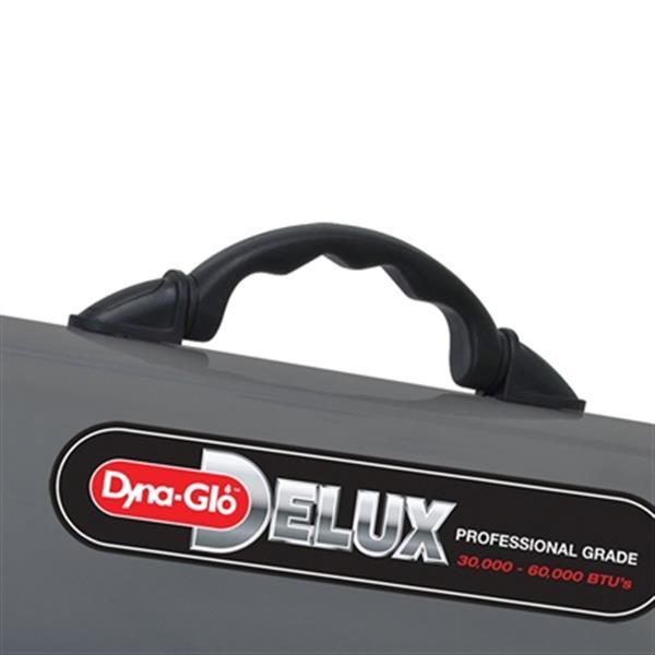 Chaufferette au gaz à air pulsé Delux Dyna-Glo, 60 000 BTU