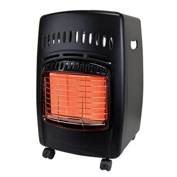 Dyna-Glo 23.38-in x 15.5-in Black 18,000 BTU Liquid Propane Cabinet Heater