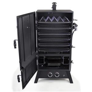 Dyna-Glo 43-in 20,000 BTU Black Wide-Body Liquid Propane Gas Smoker
