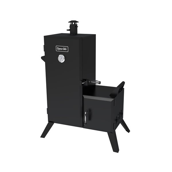 Dyna-Glo Vertical Offset Charcoal Smoker - Black