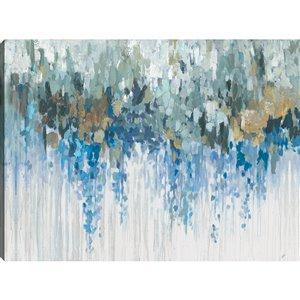 ArtMaison Canada Blue Visuals 30-in x 40-in Canvas Print Art