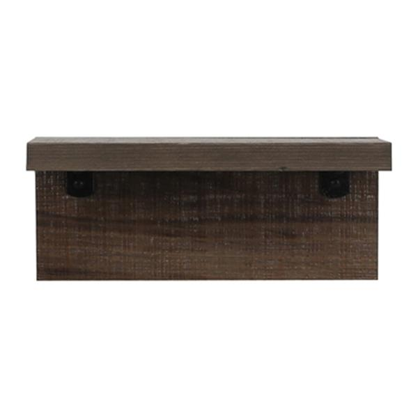 ArtMaison Canada 12-in x 6-in Wood Wall Shelf