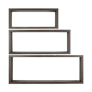 ArtMaison Canada Wooden Wall Shelves (Set of 3)
