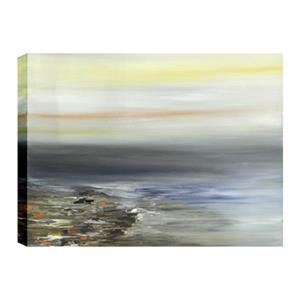 ArtMaison Canada Sand and Water Abstract 30-in x 40-in Canvas Print Art