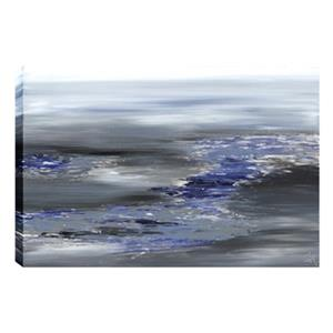 ArtMaison Canada Cloudy II Abstract 30-in x 40-in Canvas Print Art