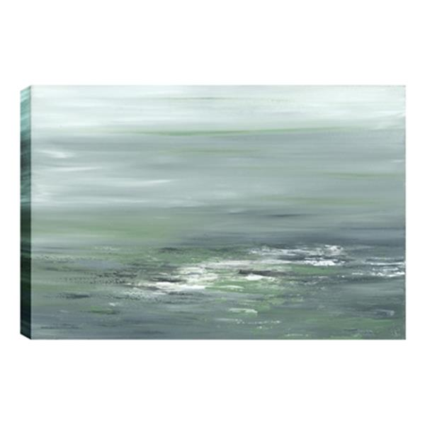 ArtMaison Canada Greenery I Abstract 24-in x 36-in Canvas Print Art