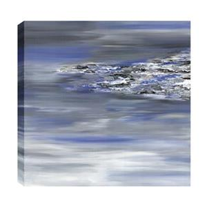 ArtMaison Canada Edge of Sea Abstract 24-in x 24-in Canvas Print Art