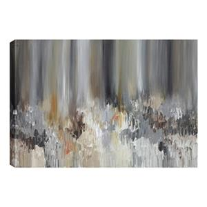 ArtMaison Canada Brown Pond Abstract 24-in x 48-in Canvas Print Art