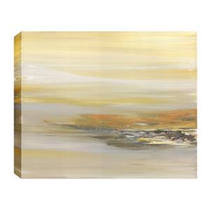 ArtMaison Canada Sandy View Abstract 30-in x 40-in Canvas Print Art