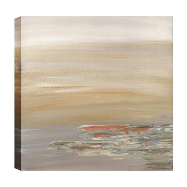 ArtMaison Canada Sunny Reflections Abstract 24-in x 24-in Canvas Print Art