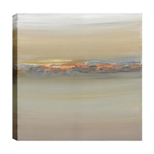 ArtMaison Canada Volcanic Impressions Abstract 24-in x 24-in Canvas Print
