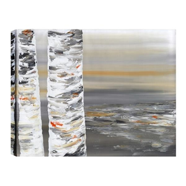 ArtMaison Canada Beside the Trunk II Abstract 30-in x 40-in Canvas Print Art