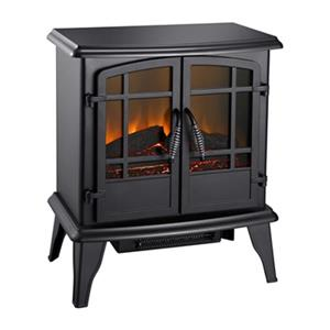 Pleasant Hearth 20-in Matte Black Electric Stove