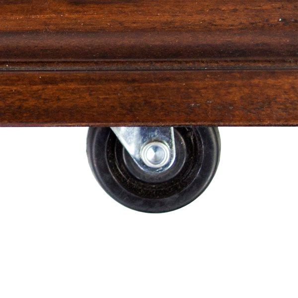 """Foyer mobile infrarouge Sheridan, 31"""", cerisier"""