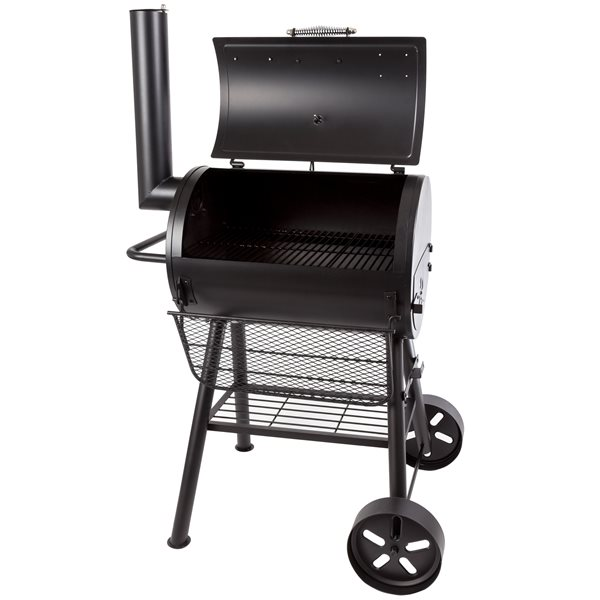 Dyna-Glo Signature Series 37-in Heavy Duty Compact Barrel Charcoal Grill