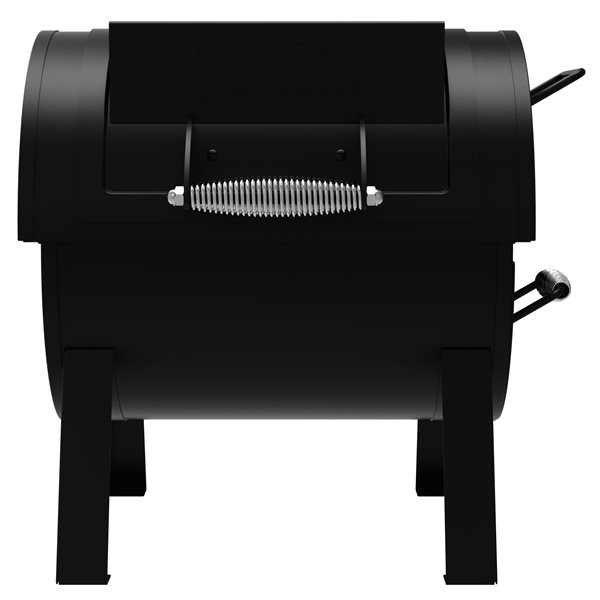 Dyna-Glo Signature Series Heavy Duty Portable Tabletop Charcoal Grill & Side Firebox