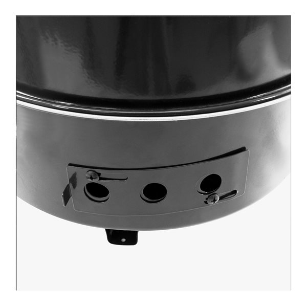 Dyna-Glo Compact Charcoal Bullet Smoker Grill - Black