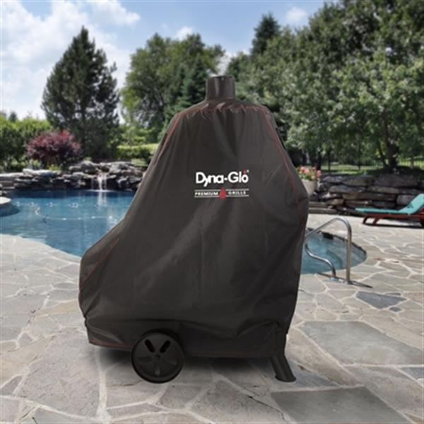 Dyna-Glo 45-in Premium Vertical Offset Charcoal Smoker Cover