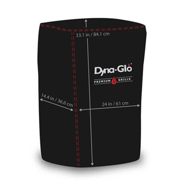 Dyna-Glo 24-in Premium Vertical Smoker Cover