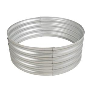 Pleasant Hearth Infinity Galvanized Fire Ring - 36-in