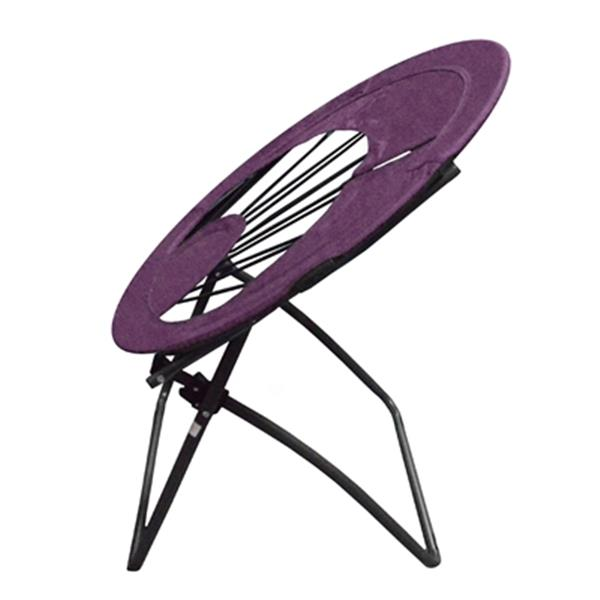 Impact Canopies Canada 32-in x 27-in Purple Round Elastic Bungee Chair