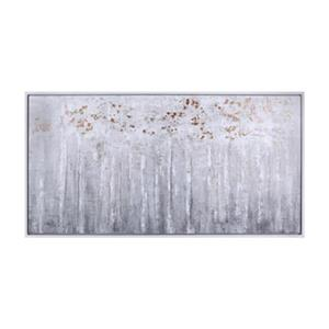 ArtMaison Canada Bronze Forest by Alina Martiros 26.50-in x 50.50-in Framed Canvas Art