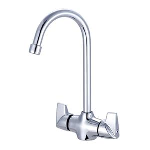 Central Brass Gooseneck Polished Chrome Bar/Pantry Faucet