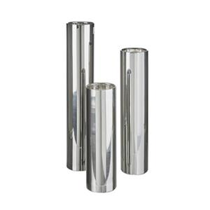 Home Gear Silver Bantam Cylinder Candlestick (Set of 3)